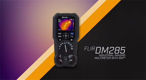 FLIR DM285 Industrial Imaging Multimeter with IGM™